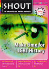 Southwark LGBT Network SHOUT Newsletter cover